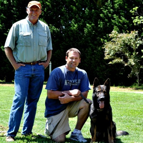 Heath Shuler & German Shepherd Trained by Simanovich