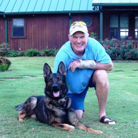 Trained German Shepherd for Terry Bradshaw