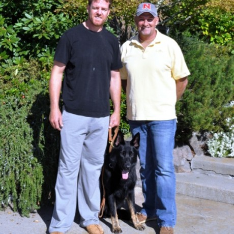 Simanovich German Shepherd Trainers Help Carson Palmer